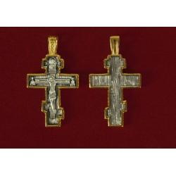 Ασημένιος σταυρός 9103-Χ