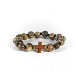 Δάκρυ Παναγίας με ξύλινο σταυρό