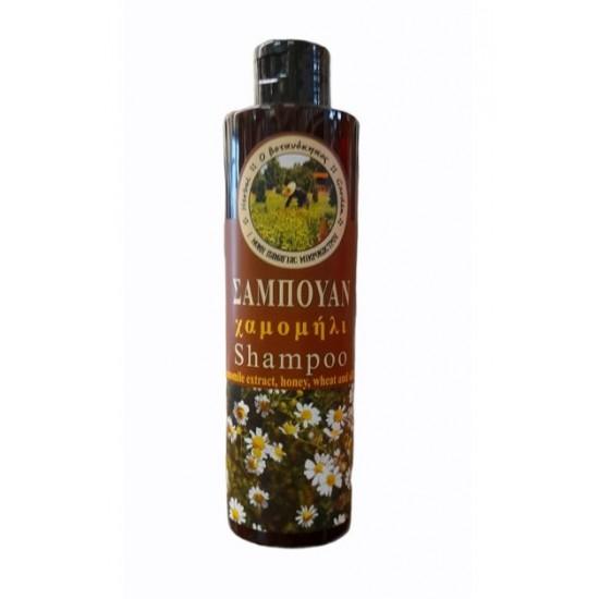 Φυσικό Mοναστηριακό Σαμπουάν με χαμομήλι & μέλι Ιεράς Μονής Κοιμήσεως της Θεοτόκου