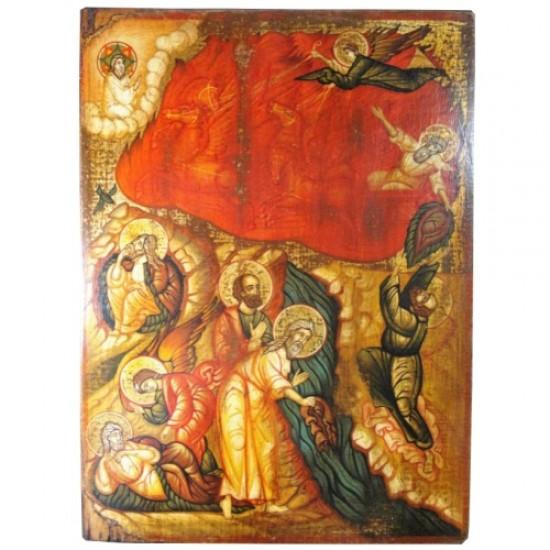 Προφήτης Ηλίας - Το θαύμα της αρπαγής του Προφήτη στον ουρανό