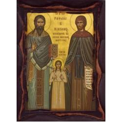 Άγιοι Ραφαήλ, Ειρήνη & Νικόλαος