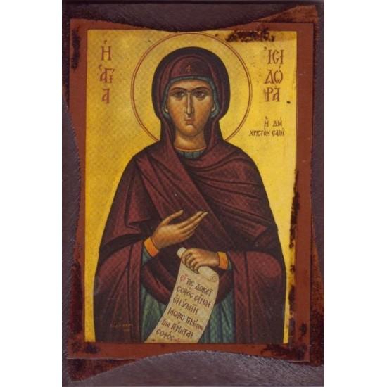 Αγία Ισιδώρα η δια Χριστόν Σαλή