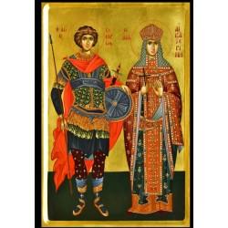 Άγιος Γεώργιος & Αγία Αικατερίνη