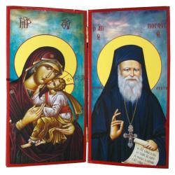 Παναγία - Άγιος Πορφύριος